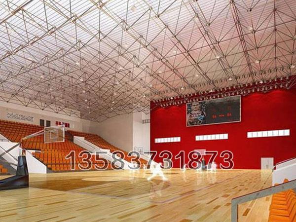 体育馆网架的材料可100%回收,真正做到绿色无污染
